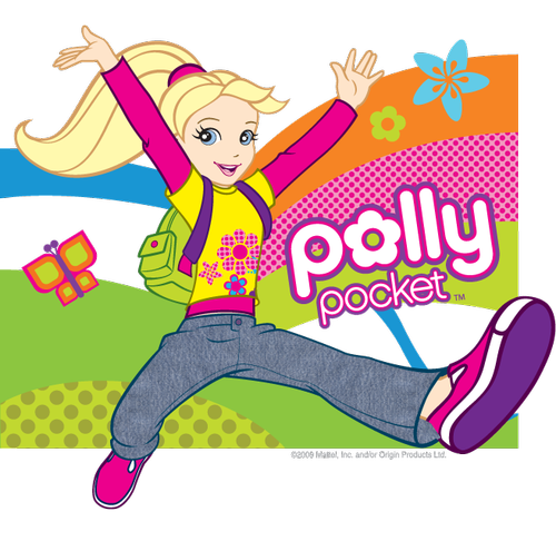 mini polly pocket coloring pages - photo#21