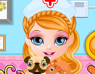 Baby Barbie Hospital de Animales