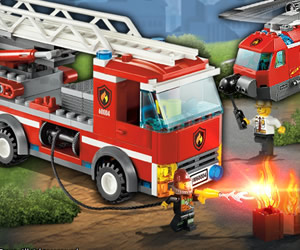 Lego City extingue el fuego