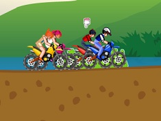 Pokemon vs Beylade con la moto