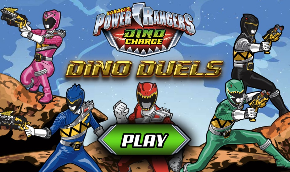 Power Rangers Megaforce duelos