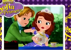 Puzzle con James y Sofia The First