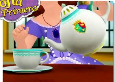 Sofia The First y el te