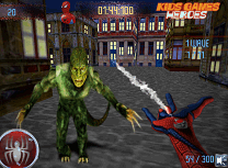Spiderman vs zombie