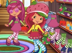 Strawberry Shortcake dia de compras
