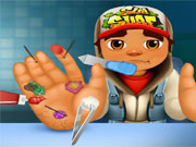 Subway Surfers Doctor de Mano