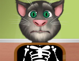 Talking Tom y los huesos rotos